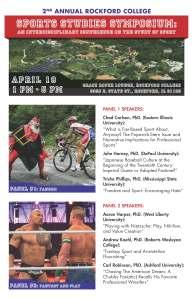 Sports Studies Symposium 2013